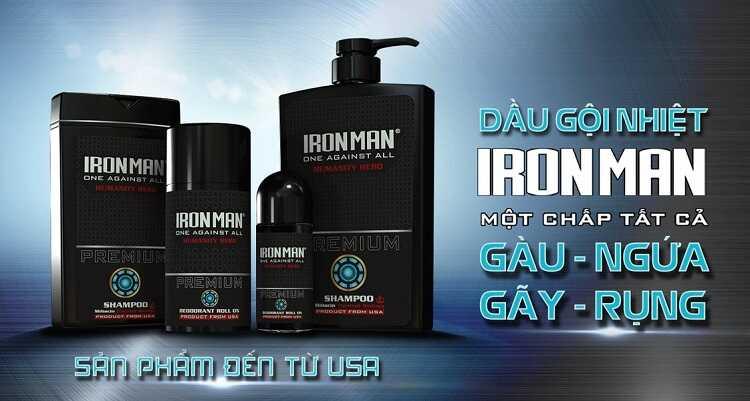Dầu gội đầu Iron Man