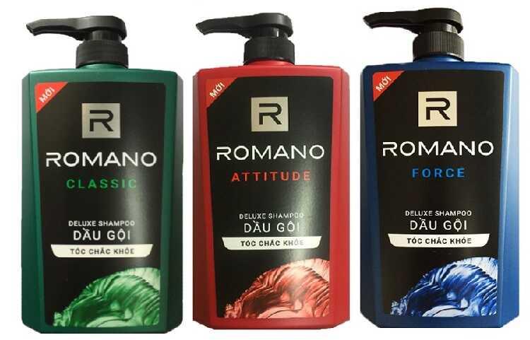 Dầu gội đầu Romano