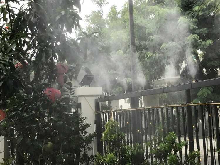 Máy phun sương, máy tạo độ ẩm giúp bạn giải nhiệt mùa hè