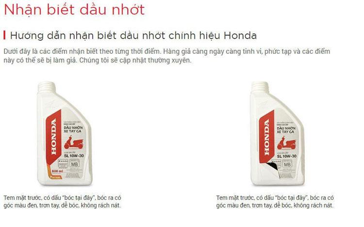 phụ tùng Honda