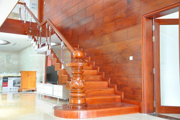 cầu thang gỗ đẹp