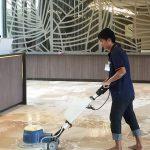 Máy chà sàn đơn - Thiết bị vệ sinh hữu ích và tiện lợi