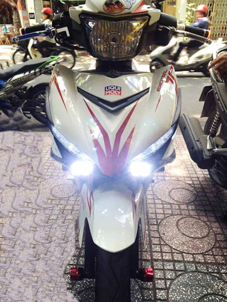 đèn led xe máy