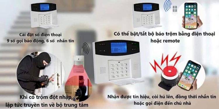 báo động chống trộm