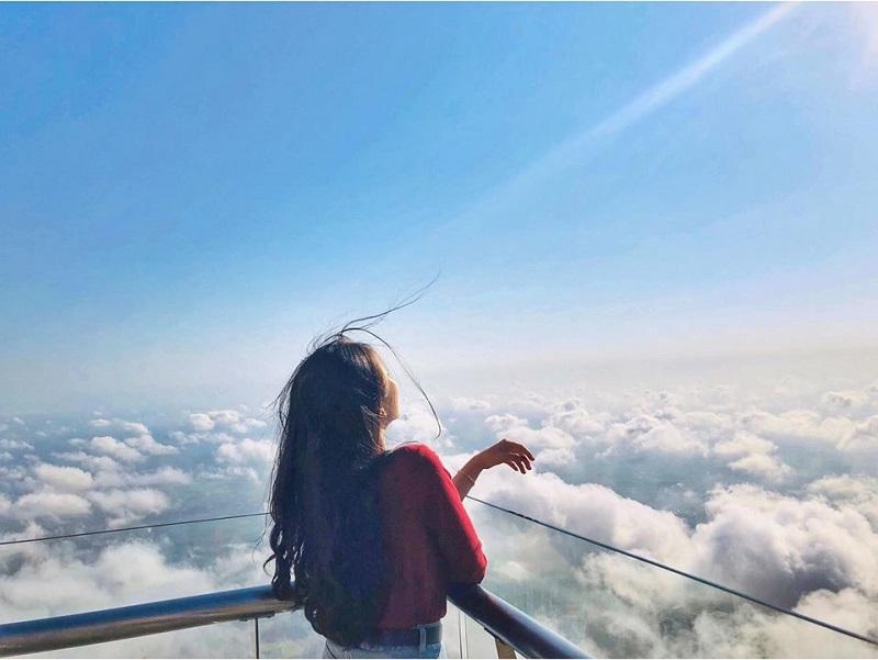 Săn mây tại núi bà đen